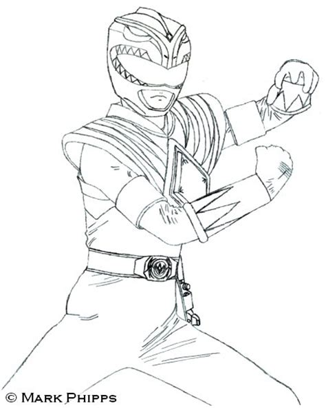 coloring pages green power ranger tommy green mighty morphin power ranger coloring pages