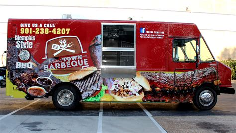 houston design center food truck how to make effective usage of food truck vehicle graphics