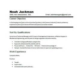 career focus examples for resume best resume example