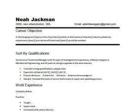 career focus exles for resume best resume exle
