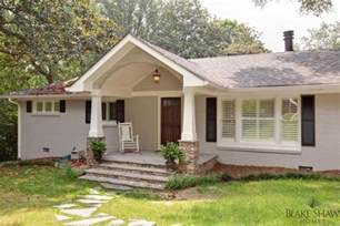 ranch style front porch welcome inviting porches on pinterest screened porches craftsman and craftsman porch