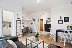 studio apartment with loft bed appartement pinterest