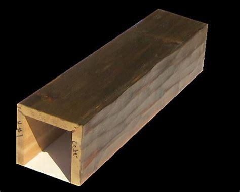 wood box beam mibhouse com cedar box beams hewn style 1 woodland beam