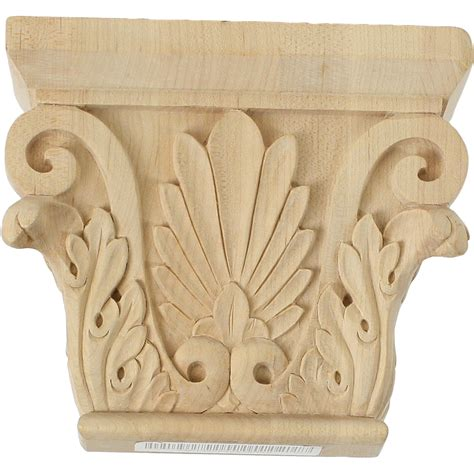 Wood Capitals And Corbels Carved Capitals Wooden Concepts
