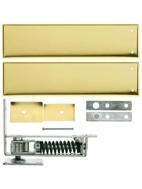 swinging kitchen door hardware standard duty swinging door floor hinge with plated steel
