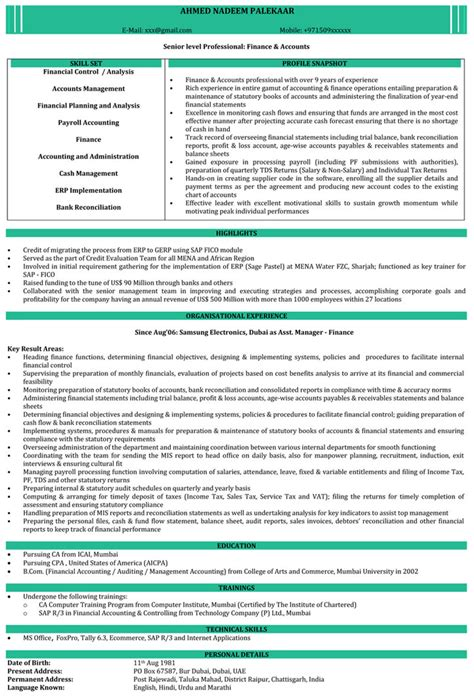Resume Sles India Area Sales Manager Resume India