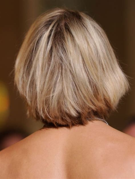bob hairstyles pictures back view cameron diaz new haircut short blonde bob hairstyle with