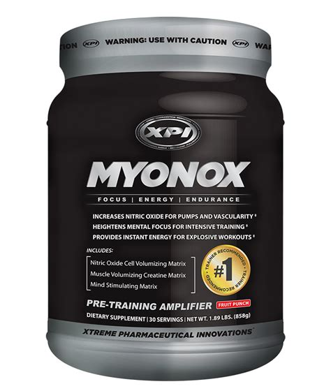 creatine nitric oxide myonox pre workout with creatine and nitric oxide for