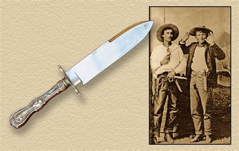 edged bowie knife the edge of perfection true west magazine