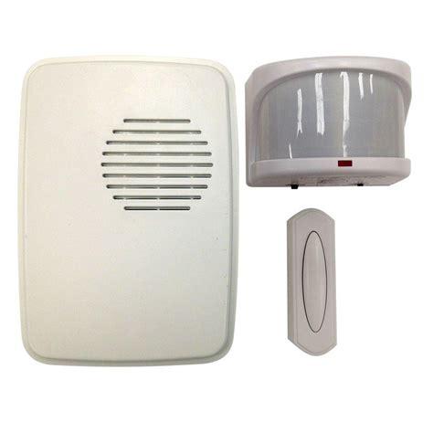 Kit Bell hton bay wireless motion alert door bell kit hb 7903 02
