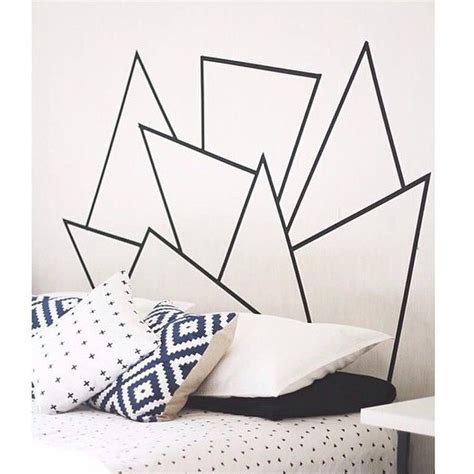 pattern tape wall art 67 best dorm images on pinterest duct tape electrical