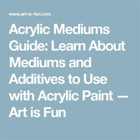 acrylic paint additives 25 best ideas about acrylic paint storage on