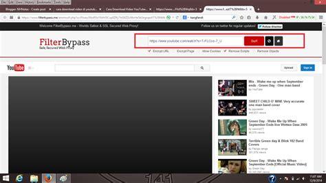 tutorial bobol website cara buka youtube yang diblock proxy nhnotes