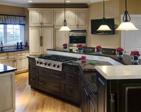kitchen island stove center island with stove home design ideas pictures remodel and decor