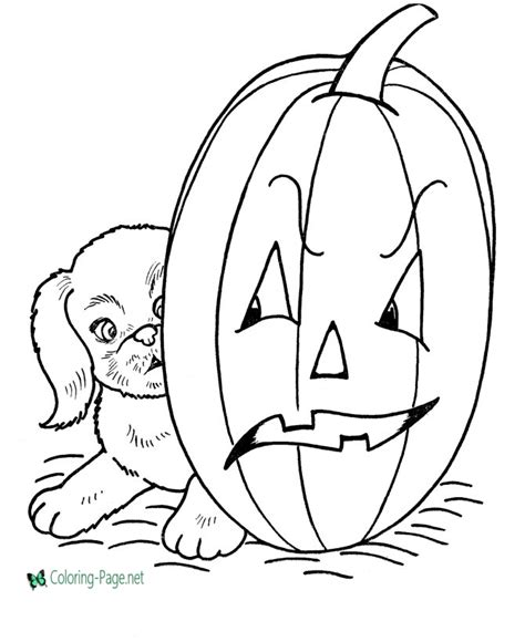 jack lantern coloring pages