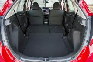 Honda Fit Seats 2015 Honda Fit Ex Rear Seats Folded Photo 13