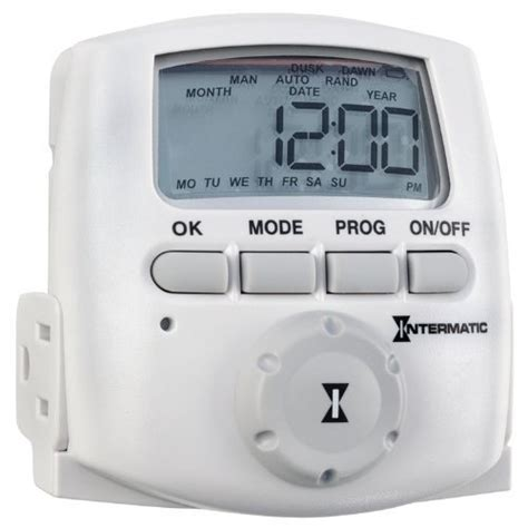 intermatic astronomic digital timer landscape lighting
