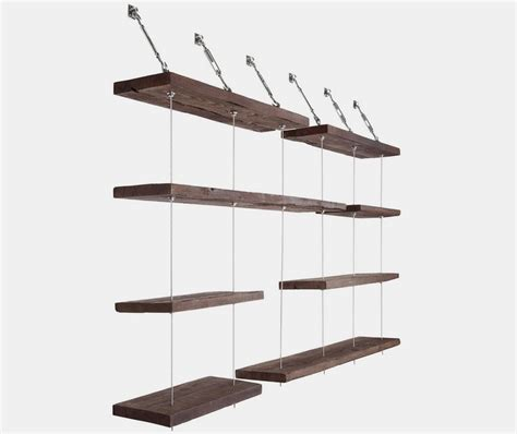 Suspended Shelf by Turnbuckle Floating Shelves
