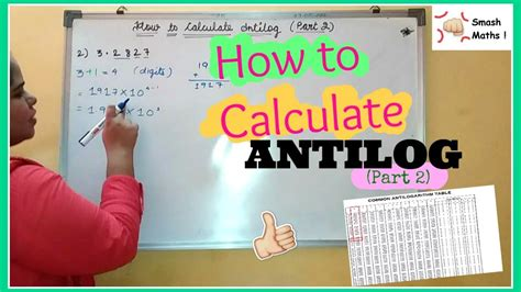 calculator antilog how to calculate antilog easy with exles part 2