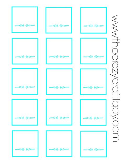 6 Best Images Of Blank Printable Drawer Labels Free Printable Blank Label Templates Blank Spice Jar Label Template Free