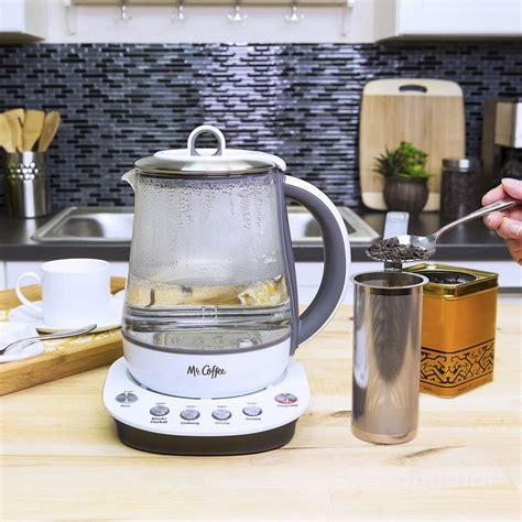 Tea And Coffee Maker Lunai Kettle 350ml mr coffee 174 tea maker and kettle white