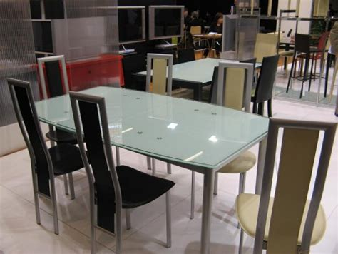 Table Ronde A Rallonge 391 by Table Cuisine En Verre Maison Design Wiblia