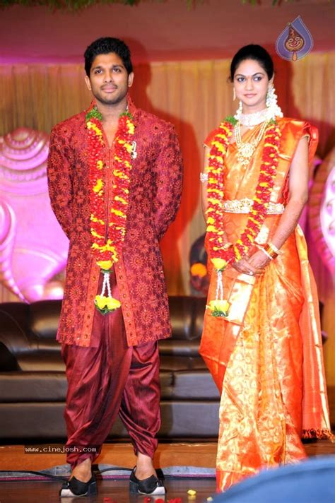 allu arjun wedding images adventure allu arjun wedding reception album