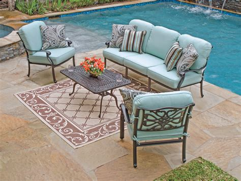 aluminum outdoor furniture sets patio cast aluminum patio sets home interior design