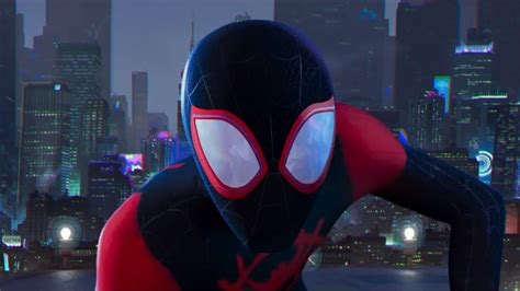 watch the first trailer for the animated miles morales spider man meet the big screen miles morales in first trailer for