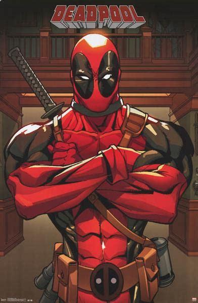 film marvel anti heroes deadpool anti hero marvel comics poster 22x34 bananaroad