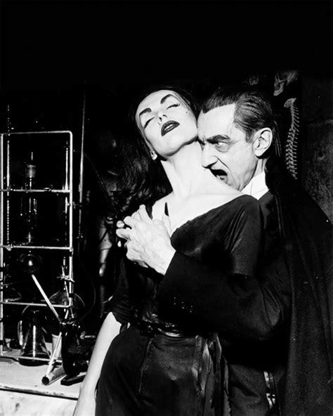 Vampira & Bela Lugosi on the Red Skelton show, 1956