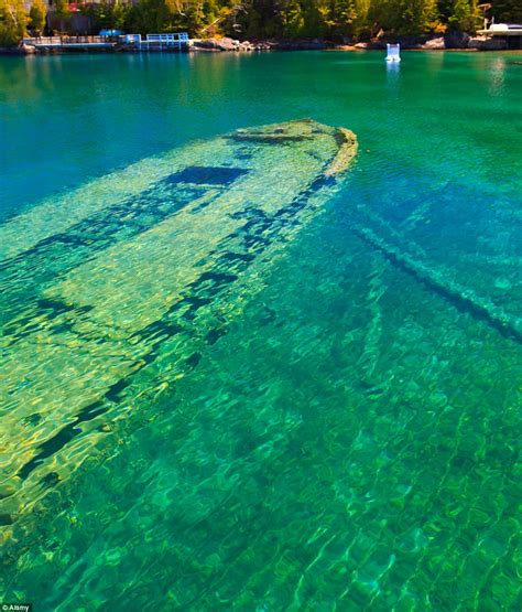 boat sinking lake michigan world 191 s most beautiful shipwreck haunting hull of