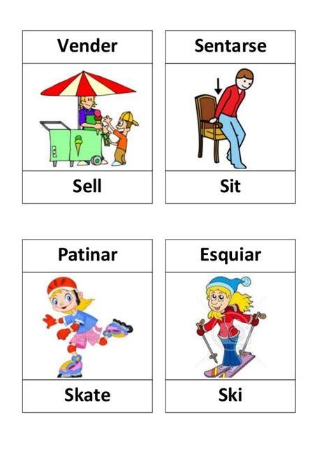 imagenes en ingles de los verbos verbos en ingles con dibujos verbs lists regular