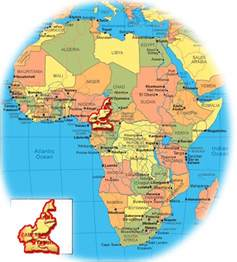 cameroon in world map tallest mountain in africa of cameroon in the