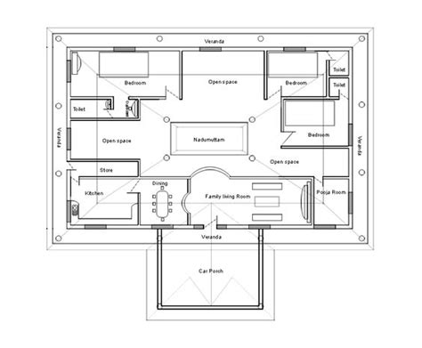 chettinad house plans chettinad type house plans house design plans