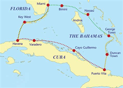 boat from miami to nassau bahamas the cuba bahamas sailing loop sail magazine