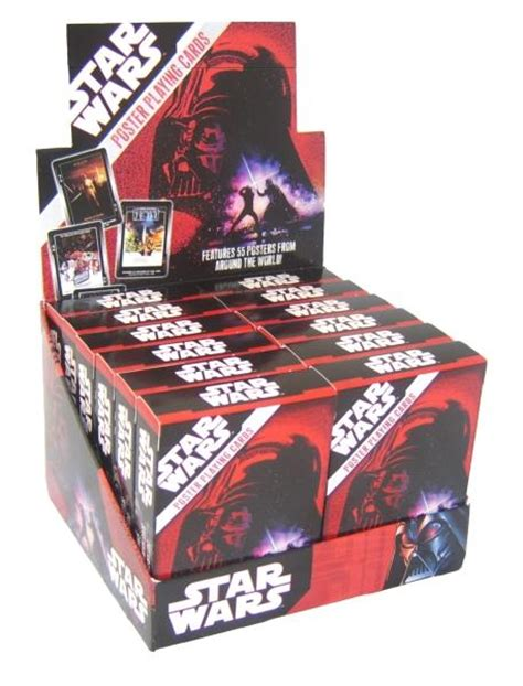 Star Wars Movie Gift Card - star wars movie posters playing cards