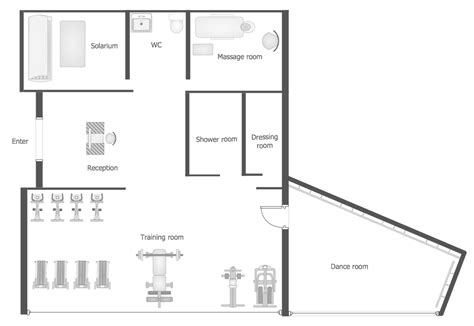 area of a floor plan gym and spa area plans gym floor plan gym layout plan