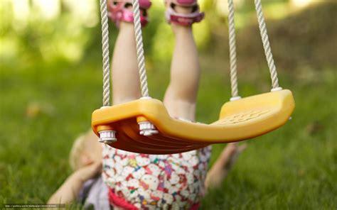 child mood swings download wallpaper mood children girl swing fell free