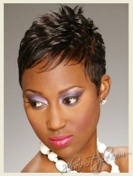 shortcuts for black women with thin hair very short pixie haircuts for 2011 black women hairstyles