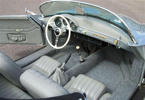 porsche speedster interior 1957 porsche speedster convertible re creation 61508
