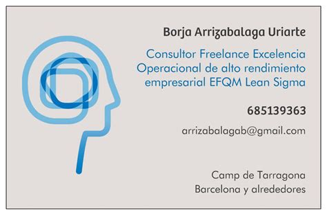 Mba Distinction Business Card by Team Arrizabalagauriarte Consulting
