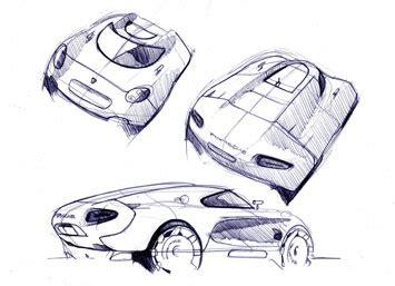 porsche concept sketch porsche carma concept car body design