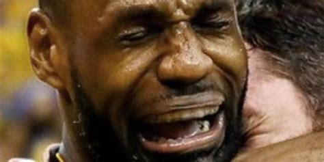 Lebron James Crying Meme - shaq catches dude secretly filming him has typically