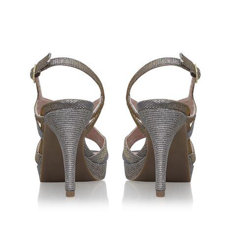 andrea comfort andrea solea comfort fit andrea pewter high heel sandals