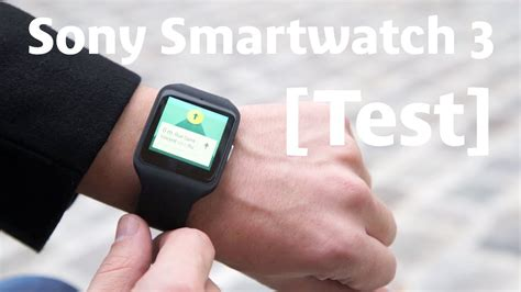 Android Wear 3 0 by Test Sony Smartwatch 3 Android Wear 1 0