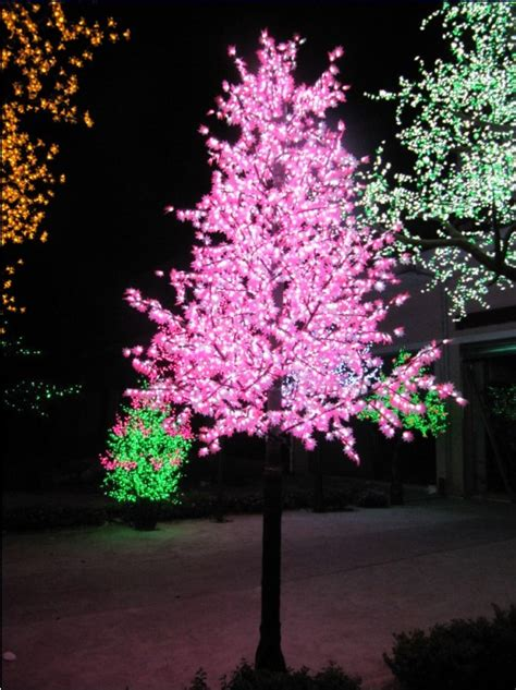 Outdoor Led Lights For Trees Led Outdoor Tree Lights Lighting And Ceiling Fans