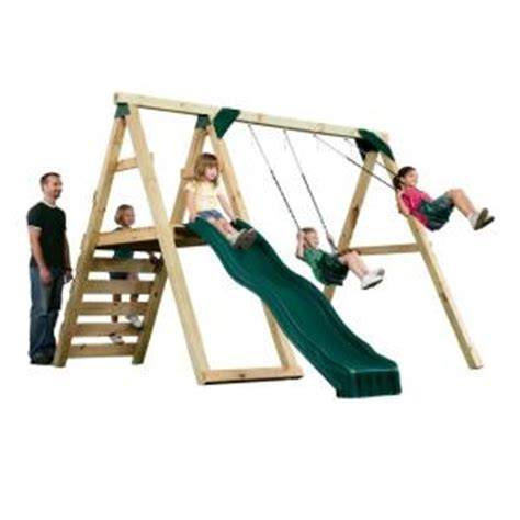 home depot swing set kits wooden swing set kits home depot 28 images swing n
