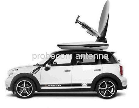 1 2m auto tracking satellite news gathering antenna from china manufacturer probecom microwave