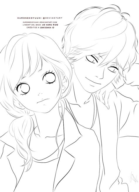 Ao Haru Ride Drawing